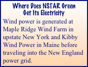 Where Does NSTAR Green 