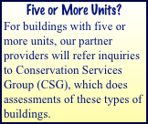 Five or More Units?