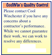CoolWin's Quality Control